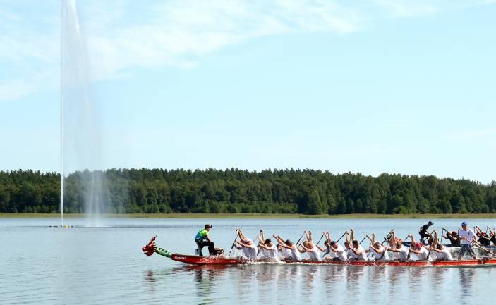 III Международный фестиваль «Dragon Boat» в Даугавпилсе
