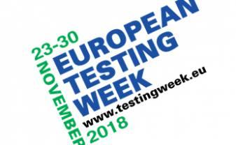 European Test Week in 2018