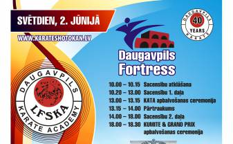 "VIII KARATE GRAND PRIX ""DAUGAVPILS FORTRESS"""