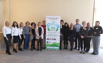Preschool Educational Institution No. 27 implements ERASMUS + project DEHORS