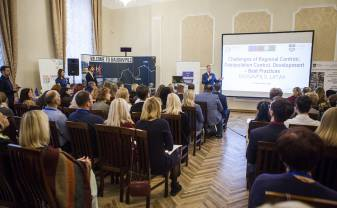 "Closing conference of the project ""Challenges of Regional Centres: Depopulation Control, Development – best practices"" (DeCoDe) was held in Daugavpils"