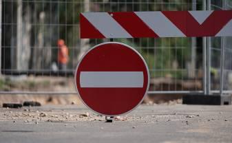 Sakarā ar būvdarbiem vairākās vietās pilsētā būs satiksmes ierobežojumi