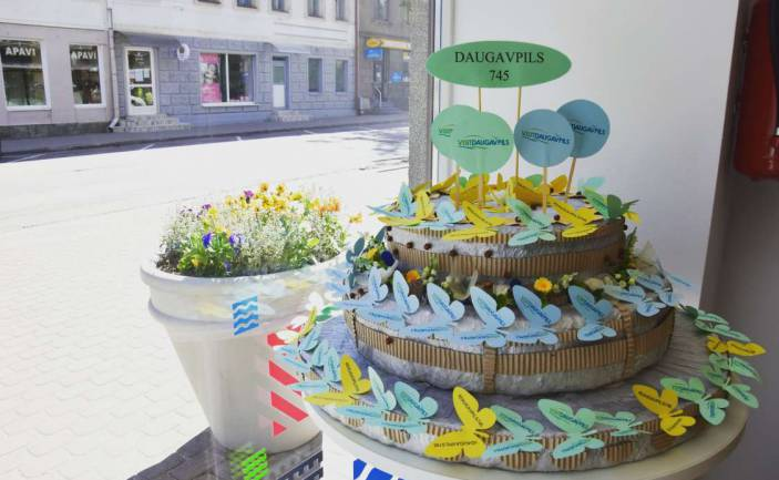 Daugavpils Tourist Information Centre together with its visitors celebrates Daugavpils City Birthday