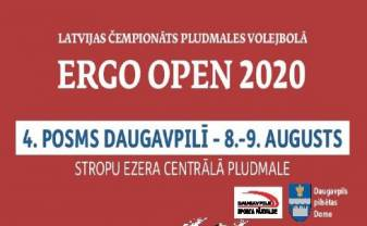 ERGO OPEN viens no posmiem notiks arī Daugavpilī