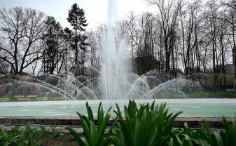 FOUNTAINS START TO OPERATE IN PARKS AND SQUARES OF DAUGAVPILS