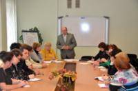 Vitalijs Azarevičs met with leaders of the school union organizations