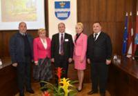 The administration of Daugavpils City Council met the mayor of Batumi Dzhemal Ananidze