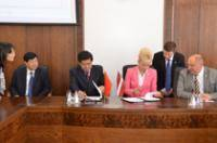 City Council signs a protocol of intent with the city of Dalian in China