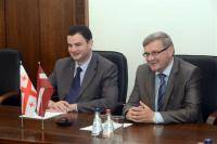 Ambassador of Georgia in Latvia Teimuraz Janjalia visited Daugavpils.