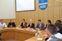 Daugavpils City Council's management had a meeting with a delegation from Panevezys